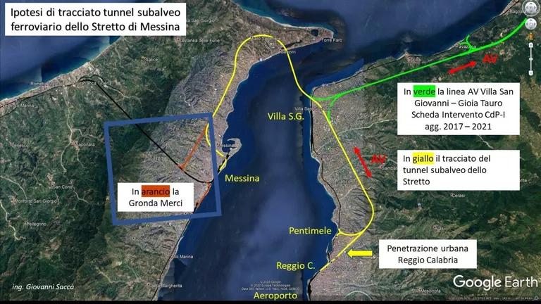 Tunnel sotto lo Stretto di Messina, il governo fa sul serio