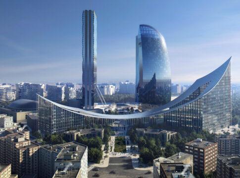 Il nuovo portale d'ingresso di CityLife a Milano