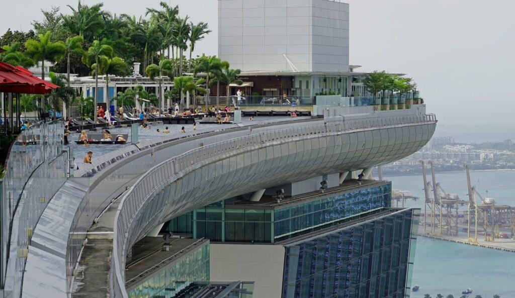 Marina Bay di Singapore: un'area dall'architettura futuristica