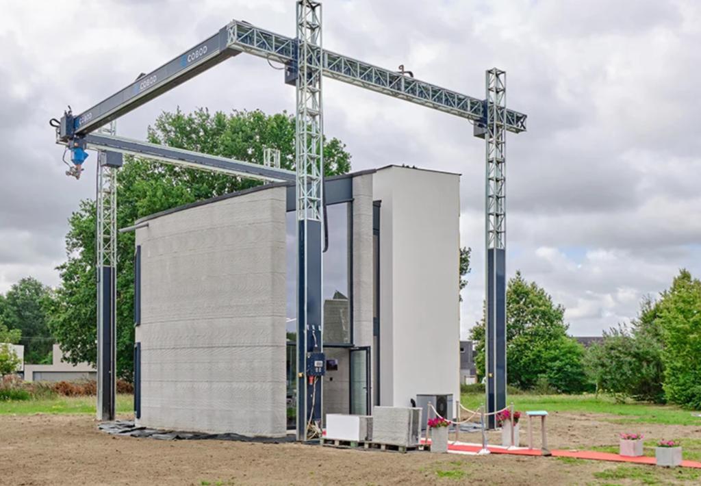 In Belgio il primo edificio 3D a due piani stampato in unico pezzo