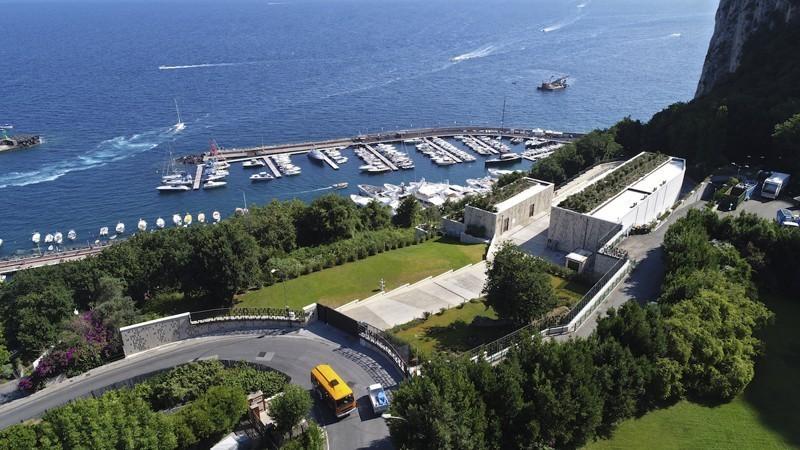 Stazione Capri ecosostenibile