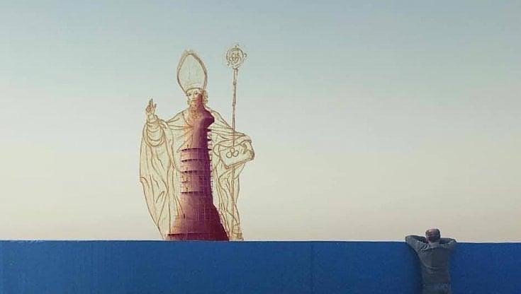 Una statua di San Nicola di 70 metri sorgerà a Bari