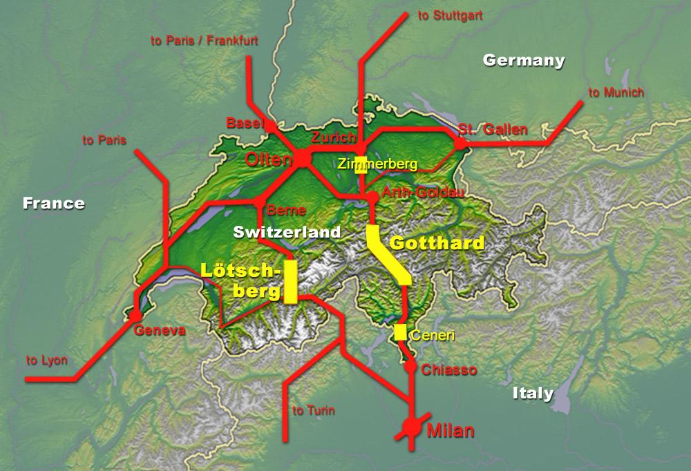 Alptransit, il più grande progetto infrastrutturale della Svizzera degli ultimi decenni