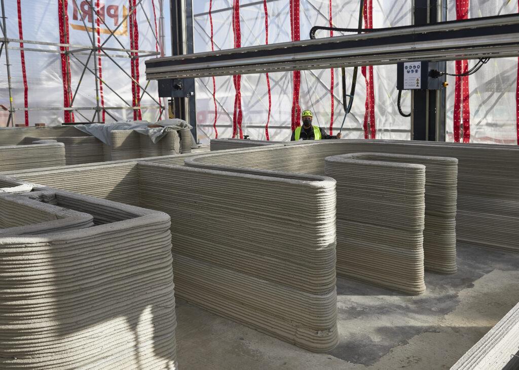 Il primo edificio residenziale stampato in 3D di Italcementi