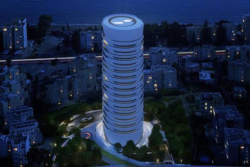 Sixty6 Tower, la torre residenziale di Pininfarina a Cipro