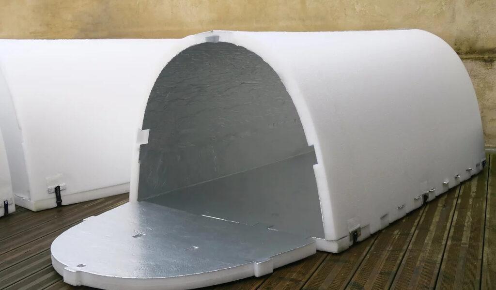 Rifugi termici temporanei per senzatetto, contro l'architettura ostile