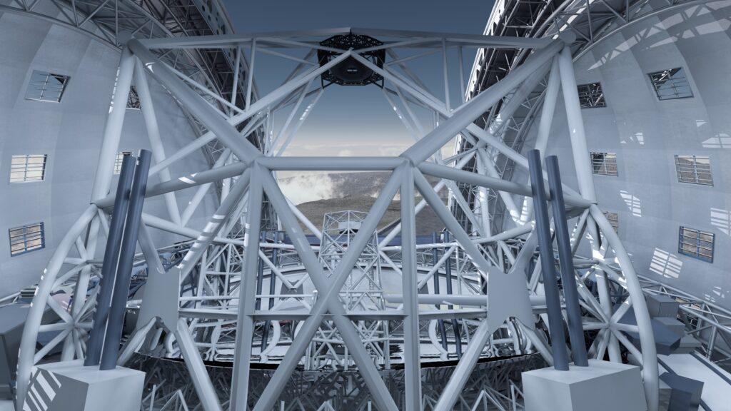 Il più grande telescopio ottico del mondo realizzato da Astaldi e Cimolai