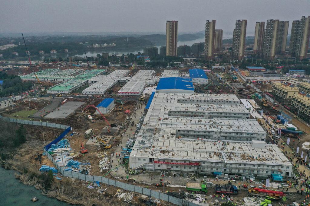 6 nuovi ospedali in due settimane, la Cina si prepara al capodanno