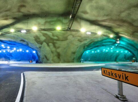 La prima rotonda sottomarina realizzata alle Isole Faroe