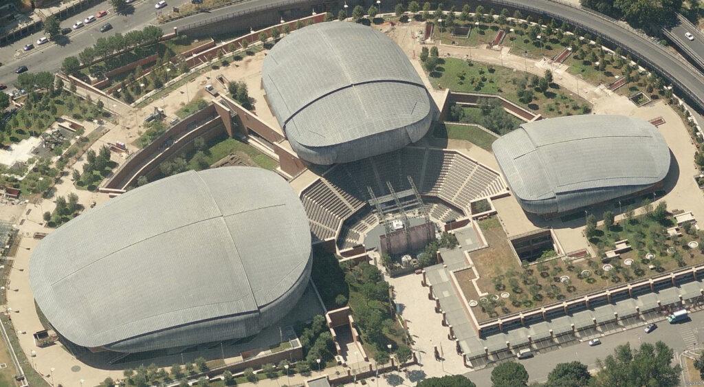 Auditorium Parco della Musica, un capolavoro di ingegneria a Roma