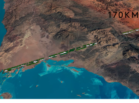 The Line, la città senza auto lunga 117 km in Arabia Saudita