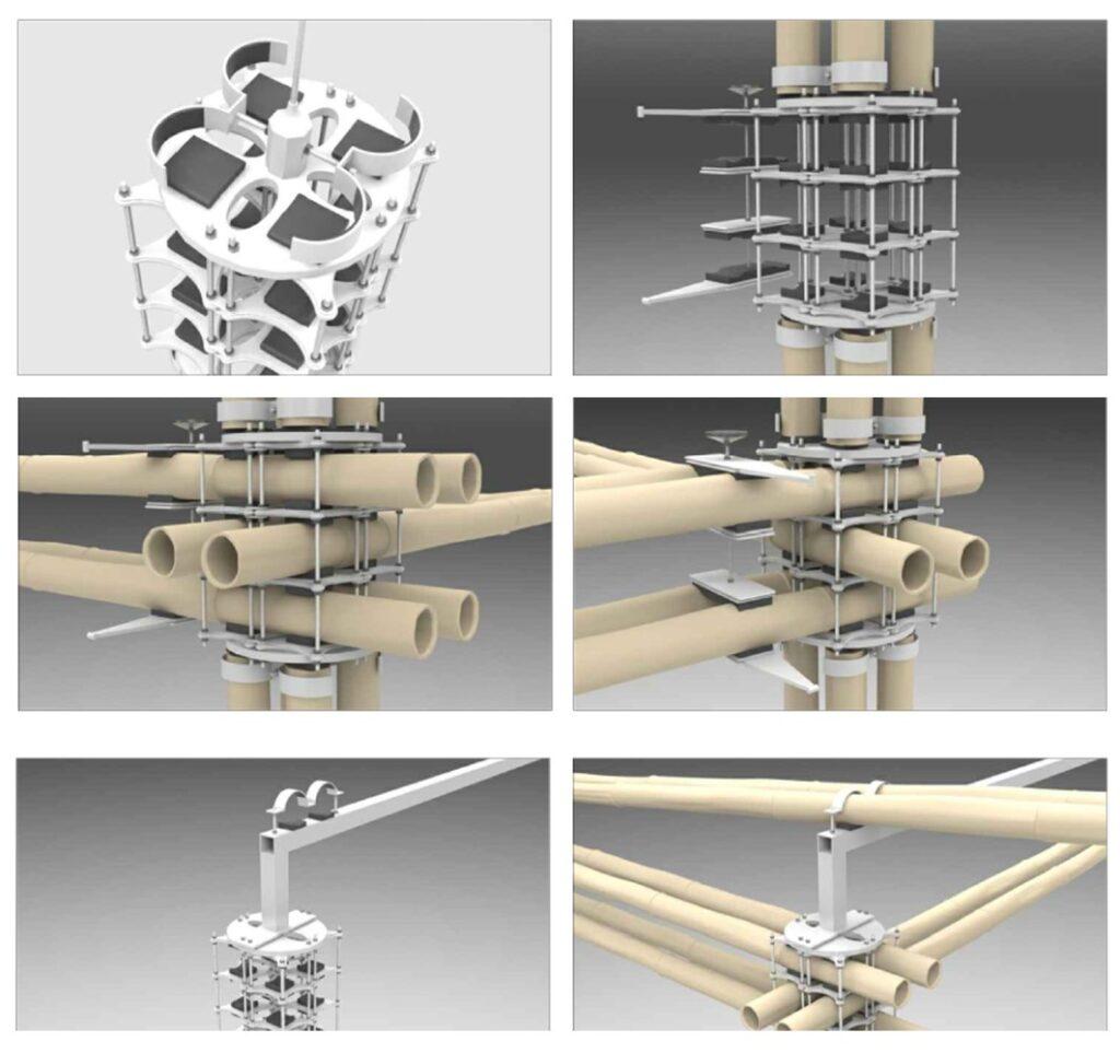 Costruire in bamboo, i progetti di Mauricio Cardenas