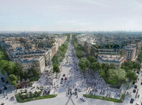 Gli Champs-Élysées di Parigi saranno più green