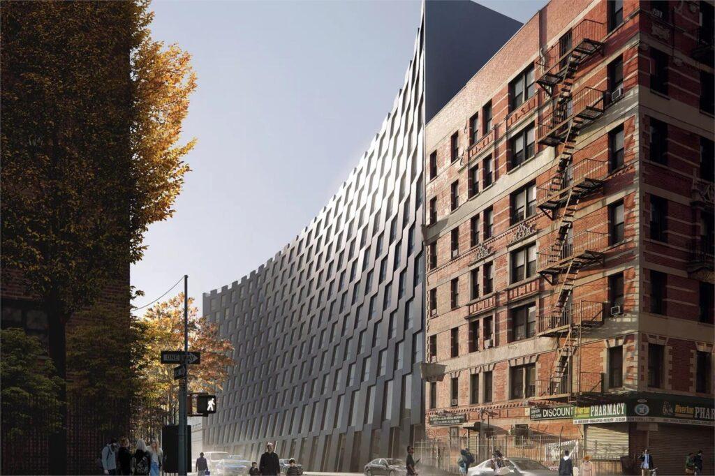 Smile a New York, edificio residenziale ispirato ad Harlem