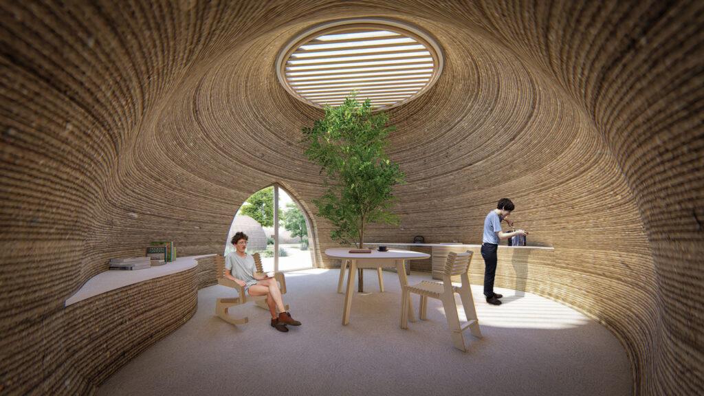 Tecla, un habitat sostenibile in terra stampato in 3D
