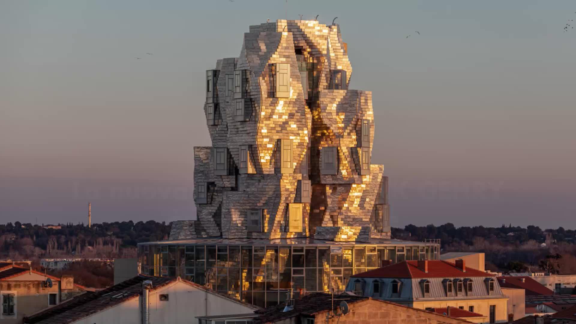 Torre Arles, l'ultima opera di Gehry nel nuovo parco delle arti francese
