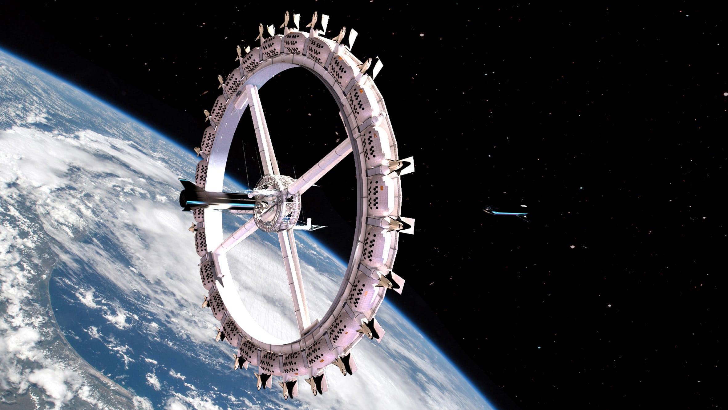 Il primo hotel nello spazio sarà realizzato nel 2027