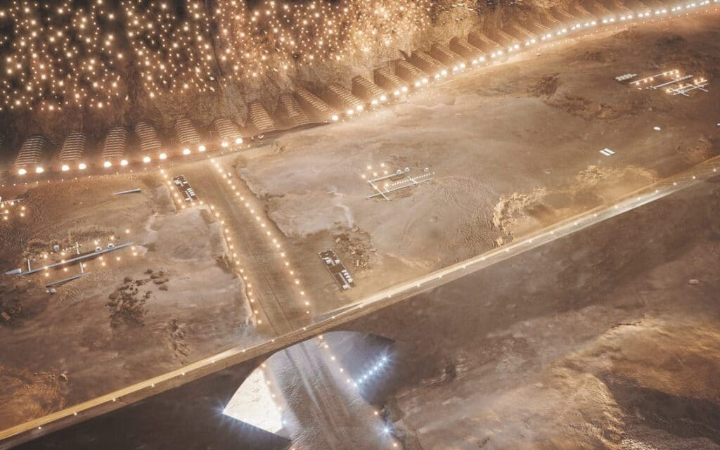 Nüwa City, il progetto delle prima città su Marte
