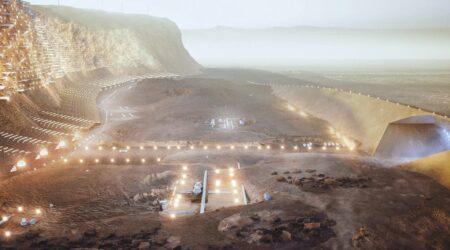 Nüwa City, il progetto delle prime città su Marte