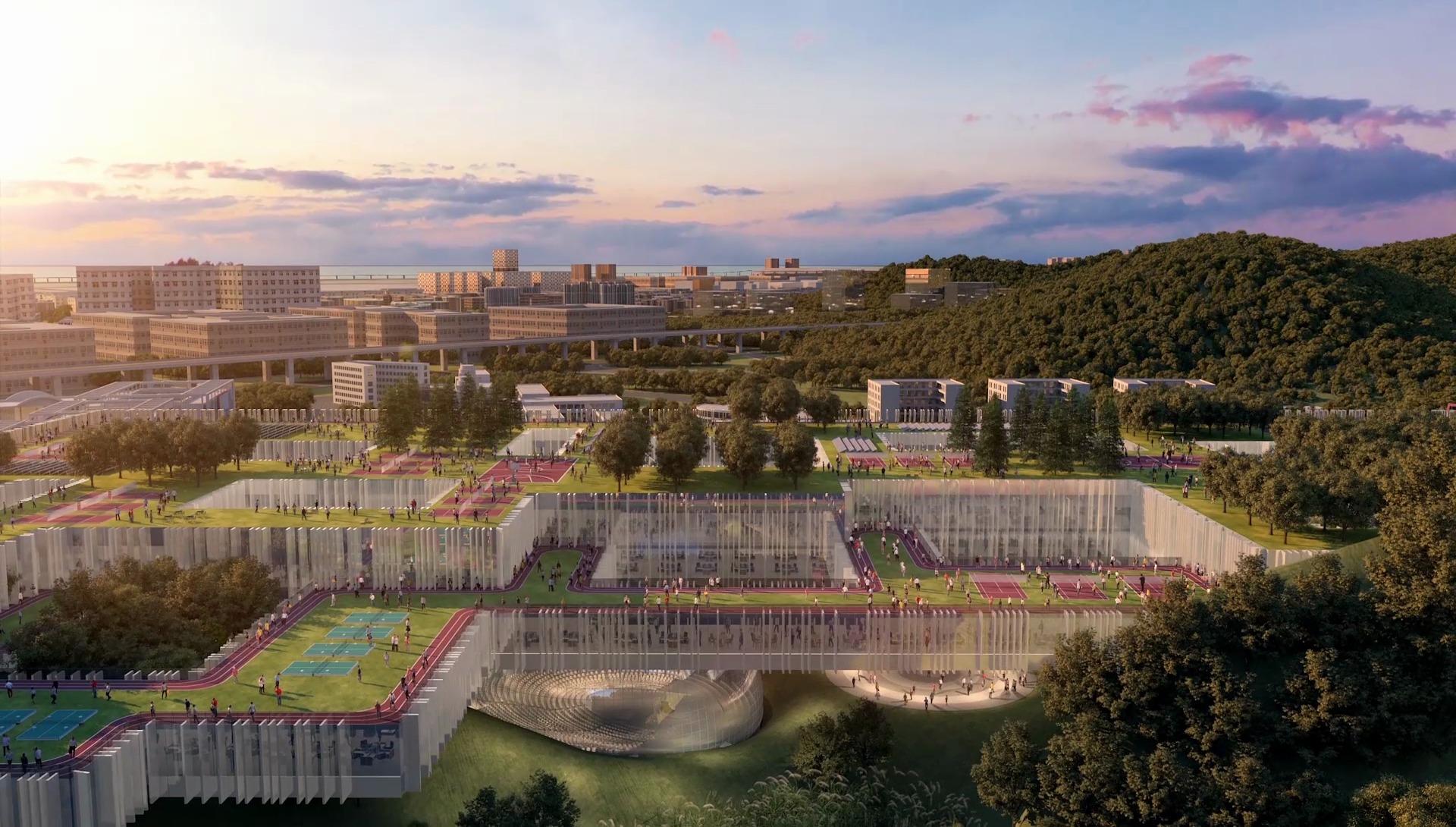 Dominique Perrault realizzerà il nuovo Istituto di Design e Innovazione di Shenzhen