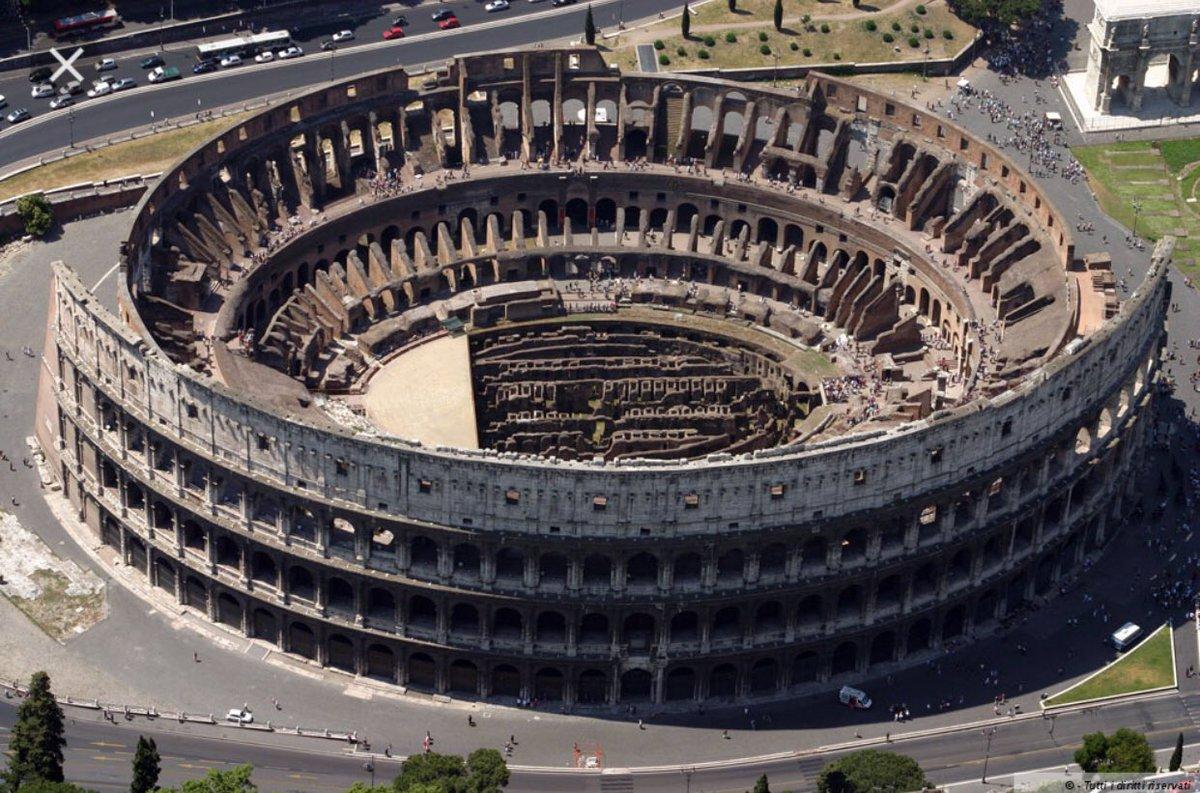 Ecco la nuova copertura del Colosseo