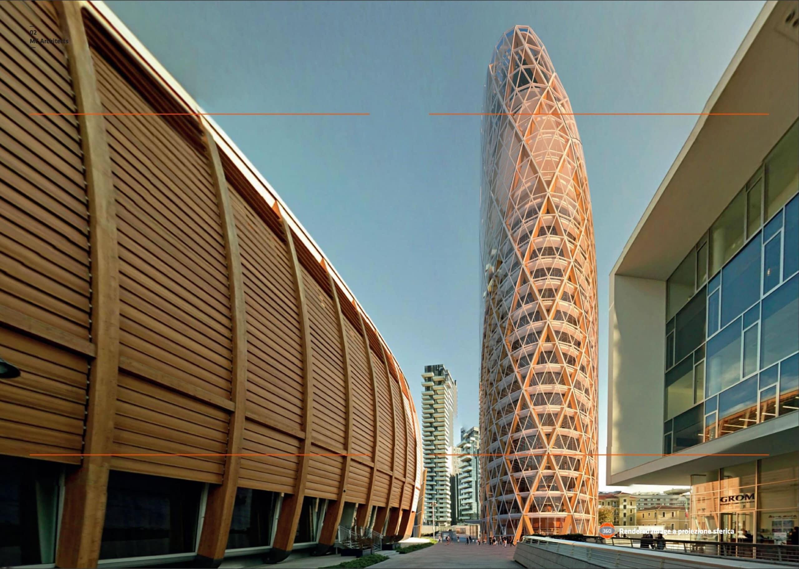 Il nido verticale di Milano, il nuovo centro direzionale Unipol