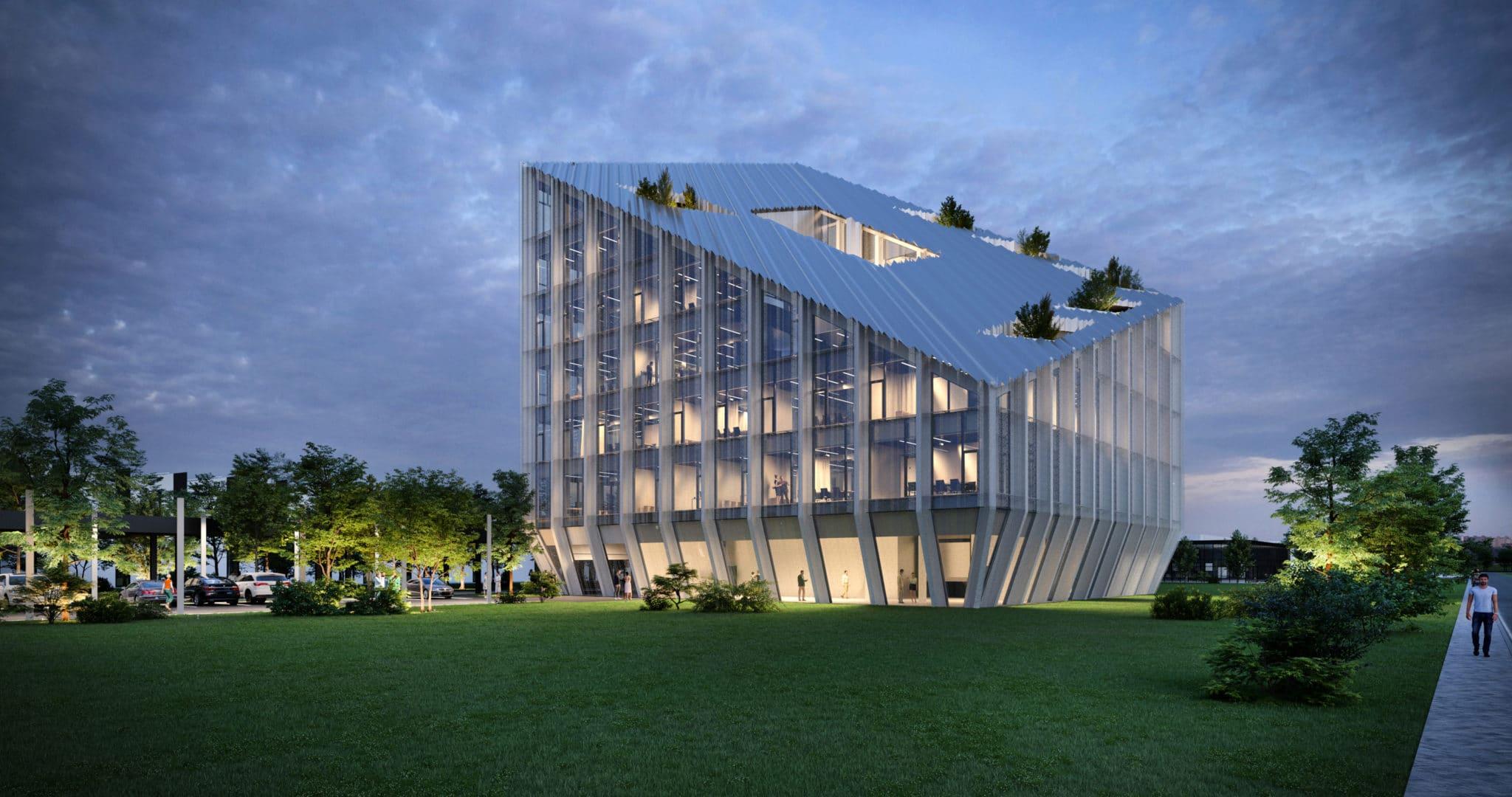 Bonfiglioli, la nuova sede porta la firma di Peter Pichler Architecture e ARUP