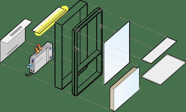 Il modulo innovativo di facciata Cellia