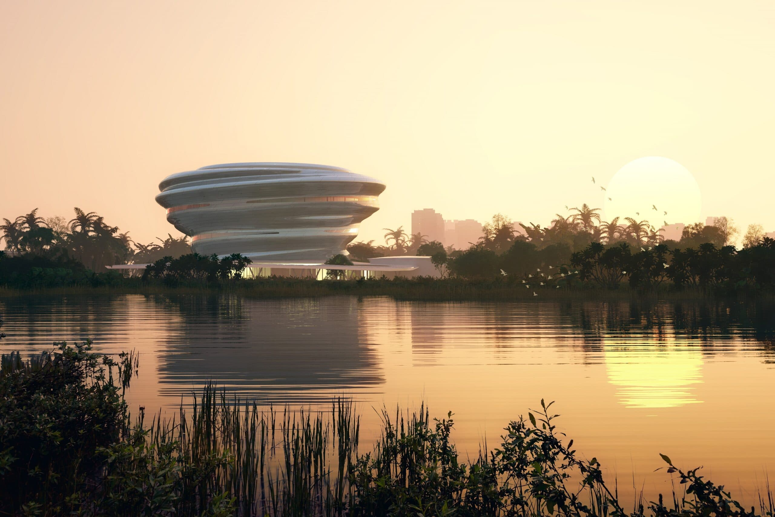 Hainan Science and Technology Museum: MAD Architects rivela il design