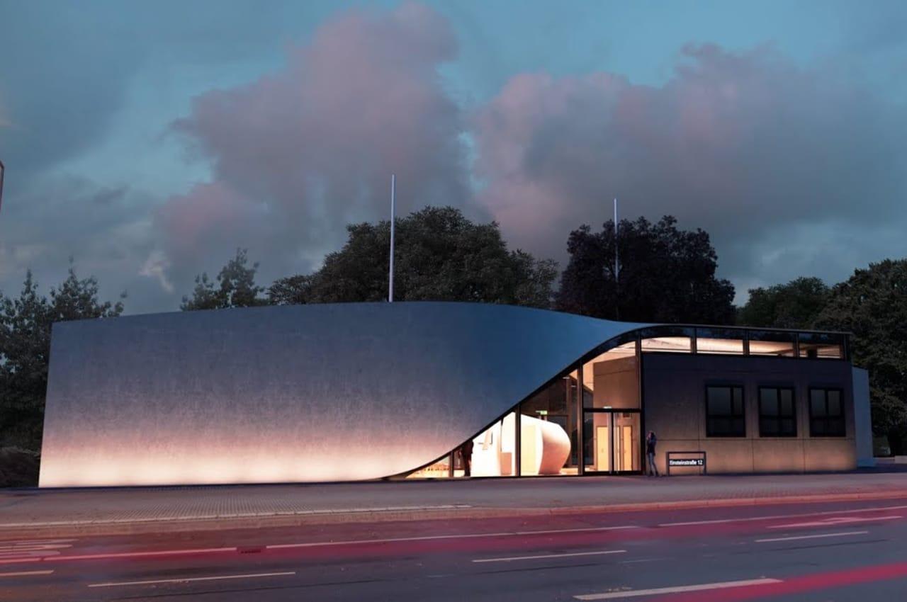 Cube, primo edificio al mondo in cemento rinforzato con fibre di carbonio