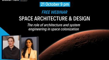 Scopri il webinar gratuito del SIDI sulla Space Architecture & Design